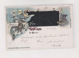 AUSTRIA WIEN BEI NACHT Nice Postcard - Wien