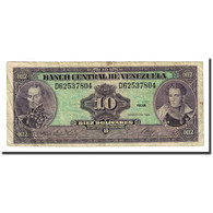 Billet, Venezuela, 10 Bolívares, 1986-03-18, KM:61a, TB - Venezuela