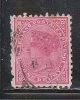 NEW ZEALAND Scott # 61 Used - Queen Victoria - 1855-1907 Crown Colony