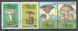 Ghana 1993 Yvert 1495-97, Mushrooms - MNH - Ghana (1957-...)