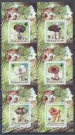 Guineé Republique - Guinea 1985 Michel BL 129A-34A, Mushrooms - Miniature Sheets - MNH - Guinée (1958-...)