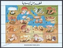 Libya - Libye - Libia 1985 Yvert 1557-72, Mushrooms - MNH - Libya