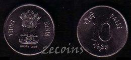 """INDIA (BHARAT) - 1 Coin Of 10 Paise - 1988""""C"""" - UNC - India"""