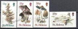 Santa Helena - Saint Helen 1983 Yvert 377-80, Mushrooms - MNH - Saint Helena Island