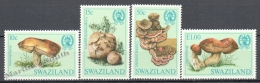 Swaziland 1984 Yvert 460-63, Mushrooms - MNH - Swaziland (1968-...)
