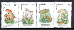 Antigua 1992 Yvert 1447-50 Mushrooms - MNH - Antigua Et Barbuda (1981-...)