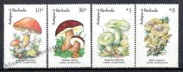 Antigua 1992 Yvert 1469-72 Mushrooms - MNH - Antigua Et Barbuda (1981-...)