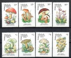Barbuda Mail 1992 Yvert 1258-65 Mushrooms - MNH - Antigua Et Barbuda (1981-...)