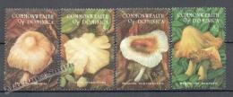 Dominica - Dominique 1994 Yvert 1685-88, Mushrooms - MNH - Dominica (1978-...)