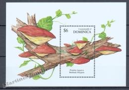 Dominica - Dominique 1991 Yvert BF 178, Mushrooms - MNH - Dominica (1978-...)