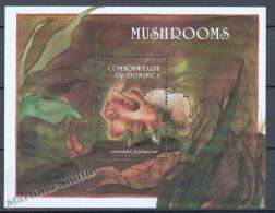 Dominica - Dominique 1994 Yvert BF 272, Mushrooms - Miniature Sheet - MNH - Dominica (1978-...)