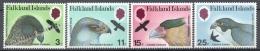 Falkland Islands 1980 Yvert, 306-09, Prey Birds - MNH - Falkland Islands
