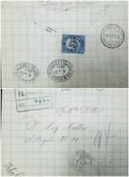 O) 1911 PANAMA, JUSTO AROSEMENA SCOTT A10 - 5 CENTESIMOS BLUE, FROM PANAMA TO NAPOLI, RECEPTION NEW YORK, XF - Panama