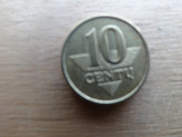 Lithuanie  10  Centu  2007  Km 106 - Lithuania