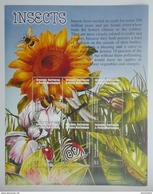 Grenada Carriacou&Petite Mart. 2002** Klb.3800-05. Insects MNH [8;94] - Insecten