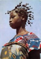 GABON La Cote Occidentale D Afrique Jeune Fille Aux Bigoudis 24(scan Recto-verso) MA203 - Gabon
