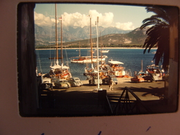 Diapo Corse Port De Calvi Citroen 2CV - Diapositives