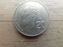 Chypre  20  Cents  1998  Km 62 - Cyprus