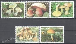Guyana 1993 , Mushrooms - MNH - Guyana (1966-...)