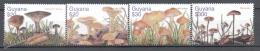 Guyana 2003 Yvert 5687-90 , Mushrooms - MNH - Guyana (1966-...)