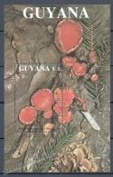 Guyana 1989 Yvert BF 24, Mushrooms - Miniature Sheet - MNH - Guyana (1966-...)