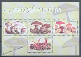 Guyana 2003 Yvert 5691-94, Mushrooms - MNH - Guyana (1966-...)