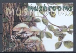 Guyana 2003 Yvert BF 463, Mushrooms - Miniature Sheets - MNH - Guyana (1966-...)