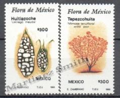 Mexico - Mexique 1988 Yvert 1274-75, Flora, Flowers - MNH - Mexico
