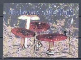 Montserrat 2003 Yvert BF 94, Mushrooms - Miniature Sheet - MNH - Montserrat