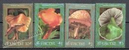 San Vicente - Saint Vincent 1992 Yvert 1531-34, Mushrooms - MNH - St.Vincent (1979-...)