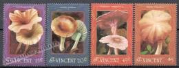 San Vicente - Saint Vincent 1992 Yvert 1628-31, Mushrooms - MNH - St.Vincent (1979-...)