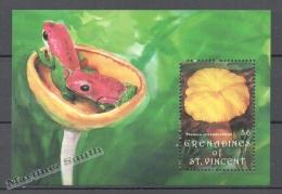 San Vicente Grenadines - Saint Vincent 1992 Yvert BF 75, Mushrooms - Miniature Sheet - MNH - St.Vincent & Grenadines
