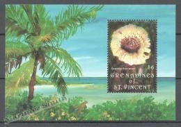 San Vicente Grenadines - Saint Vincent 1992 Yvert BF 85, Mushrooms - Miniature Sheet - MNH - St.Vincent & Grenadines