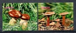 Bhutan - Bhoutan 1973 Yvert Airmail 131-32 Mushrooms - MNH - Bhutan