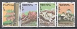 Philippines 1988 Yvert 1633-36, Mushrooms - MNH - Philippines