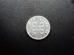 FINLANDE :  1 PENNI  1970   KM 44a    SUP - Finlande