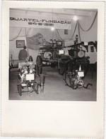 PORTUGAL   PHOTO PHOTOGRAPH - PHOTOGRAPHY  - BARCELOS -  FIREFIGHTERS ENGINES   . - 23,2 Cm X 17,1 Cm - Automobiles
