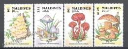 Maldives - Maldivas 1992 Yvert 1476-79, Mushrooms - MNH - Maldives (1965-...)