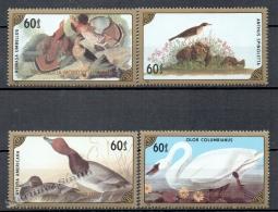 Mongolia - Mongolie 1986 Yvert 1459-62, Fauna Birds - MNH - Mongolia