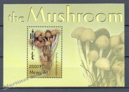 Mongolia - Mongolie 2003 Yvert BF 304B, Mushrooms - Miniature Sheet - MNH - Mongolia