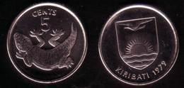 KIRIBATI - 1 Coin Of 5 Cents - 1979 - UNC - Kiribati
