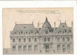 52 LANGRES NOUVEL HOTEL DE LA CAISSE D EPARGNE CPA BON ETAT - Langres