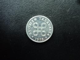 FINLANDE :  1 PENNI  1975   KM 44a    SUP - Finlande