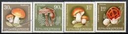 Albania 1990 Yvert 2219-22 - Mushrooms - MNH - Albania