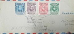 O) 1948 EL SALVADOR, AIRMAIL, MANUEL JOSE ARCE -SCOTT A163- COMPLETE SERIES-PROCER OF INDEPENDENCE -FIRST PRESIDENT CENT - El Salvador