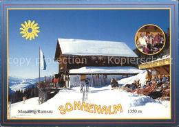 72468236 Mandling Ramsau Ausflugsziel Jausenstation Sonnenalm Ramsau Dachstein - Unclassified