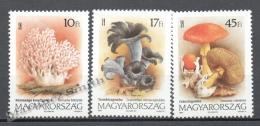 Hungary - Hongrie - Hungria 1999 Yvert 3416-18, Mushrooms - MNH - Hungría