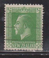 NEW ZEALAND Scott # 144 Used - KGV Definitive - 1855-1907 Crown Colony