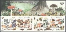 Romania - Rumania 1994 Yvert C-4178-85, Mushrooms - Booklet -  MNH - 1948-.... Repúblicas