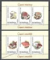 Romania - Rumania 2003 Yvert 4834-39, Mushrooms - MNH - 1948-.... Repúblicas